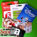 10 ways to save on gift cards