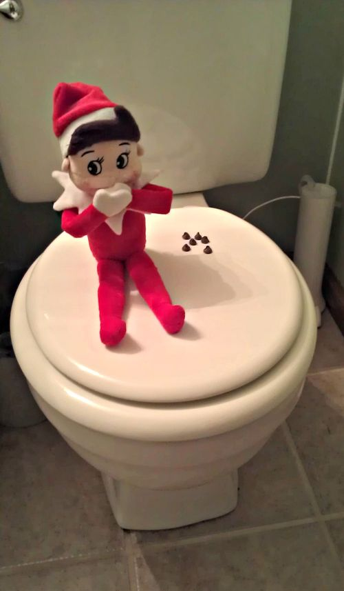 Elf on the Shelf Ideas for ADULTS ONLY | Mommysavers.com #elfontheshelf