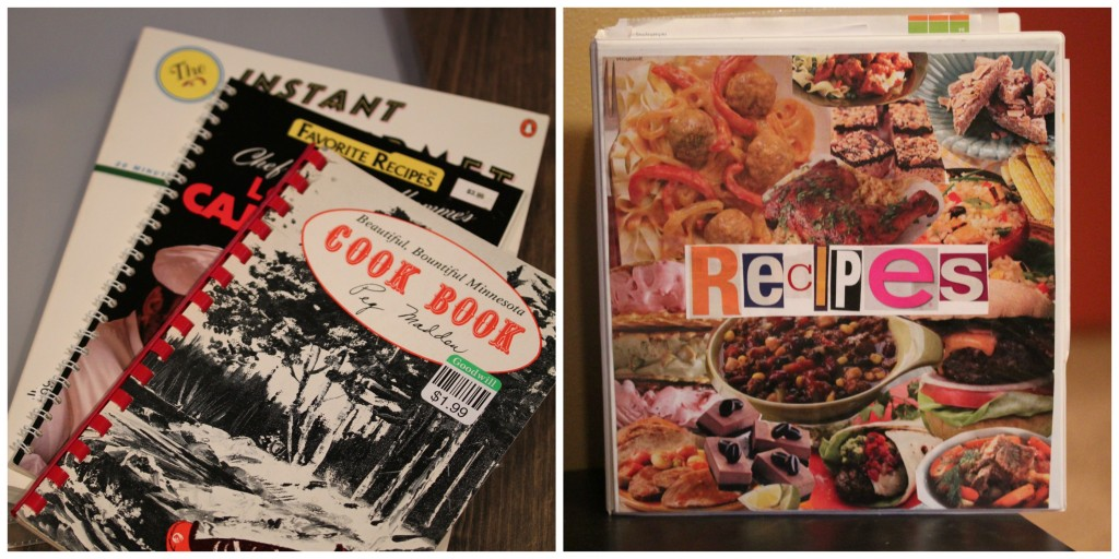 Thrift Store Gift Ideas - DIY Personalized Cookbook