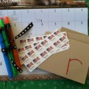 Homemade Gift Idea: Calendar Gift Basket