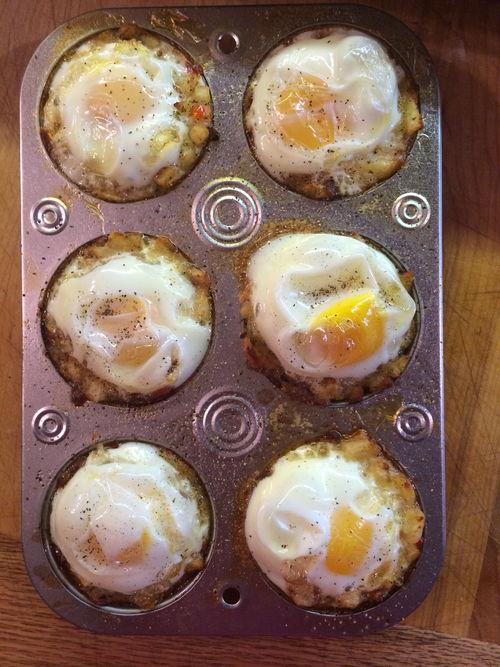 Hash Brown Muffin Cups Recipe