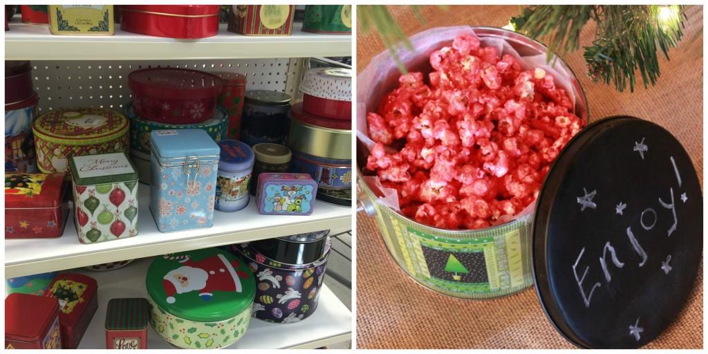 Thrift Store Gift Ideas - hostess gift set
