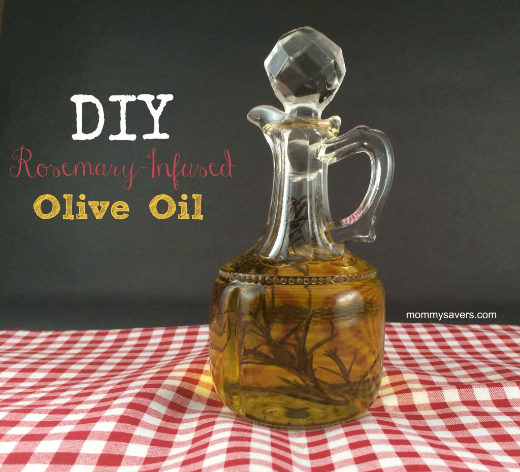 Frugal Gift Idea: Rosemary Infused Olive Oil - Great for dipping ...