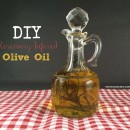 Frugal Gift Idea: Rosemary Infused Olive Oil - Great for dipping! | Mommysavers.com