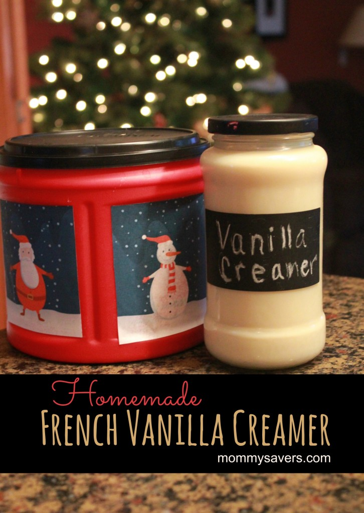How to Make Coffee Creamer:  Homemade French Vanilla Creamer