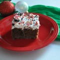 christmas baking treats, christmas poke cake