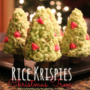 rice krispies treats christmas trees - Christmas Treats for Kids