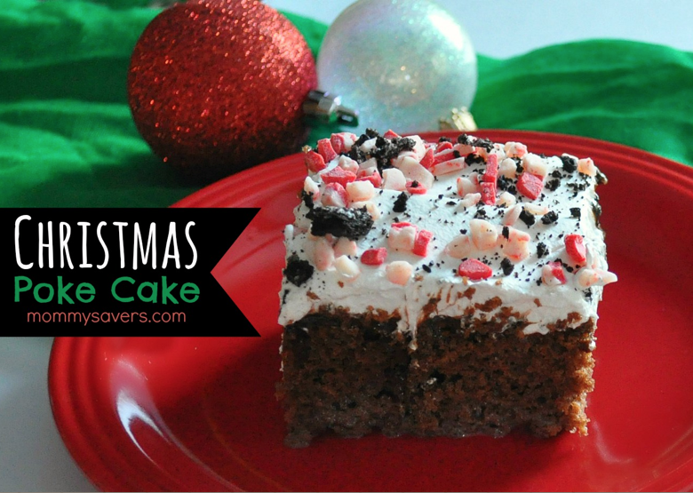 Christmas Poke Cake Recipe