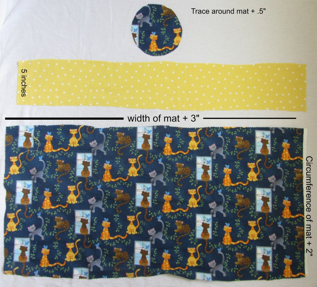 Yoga Mat Bag Measurements