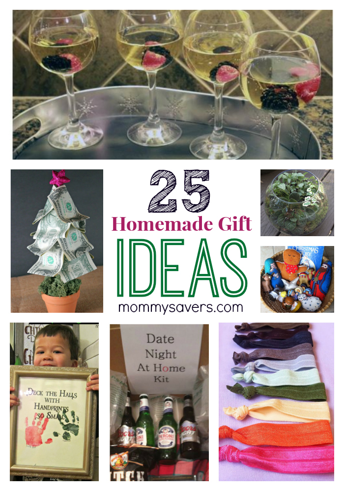 25 Frugal Holiday Gift Ideas and Easy Homemade Gifts