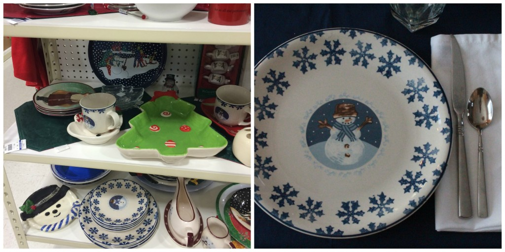 Goodwill tablescapes - plates