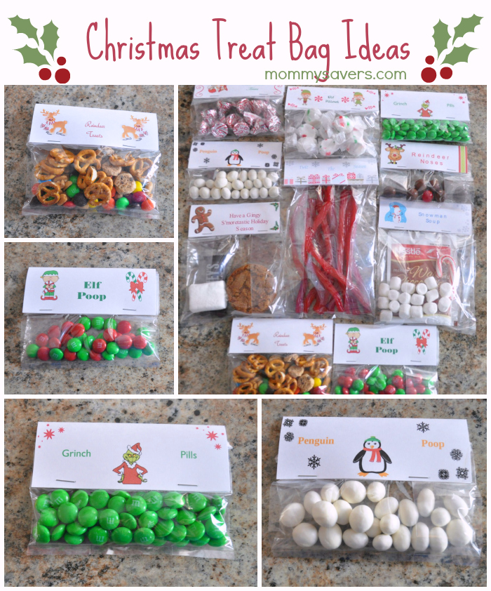 Christmas Treat Bag Ideas - Ten Creative Examples
