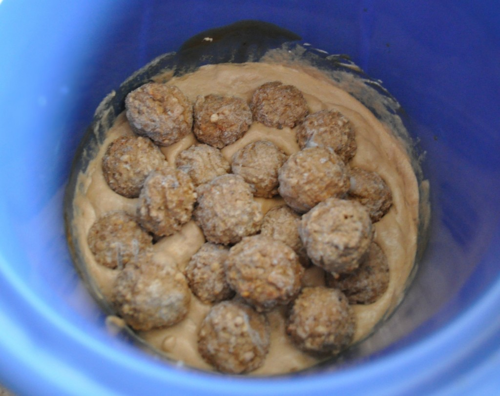 crock pot, swedish meatballs