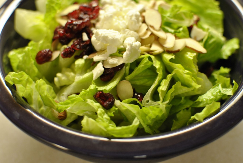 Easy Goat Cheese Salad
