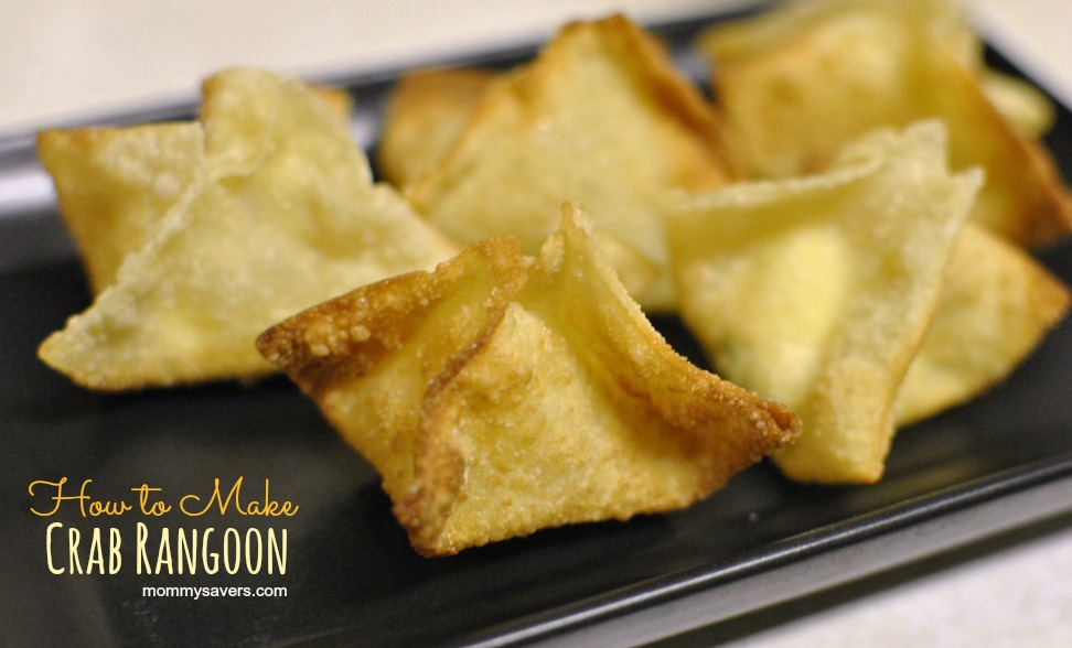 How to Make Crab Rangoon