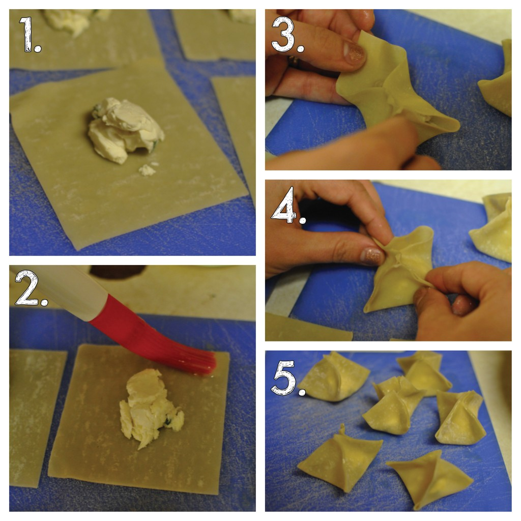How to Make Crab Rangoon - Steps