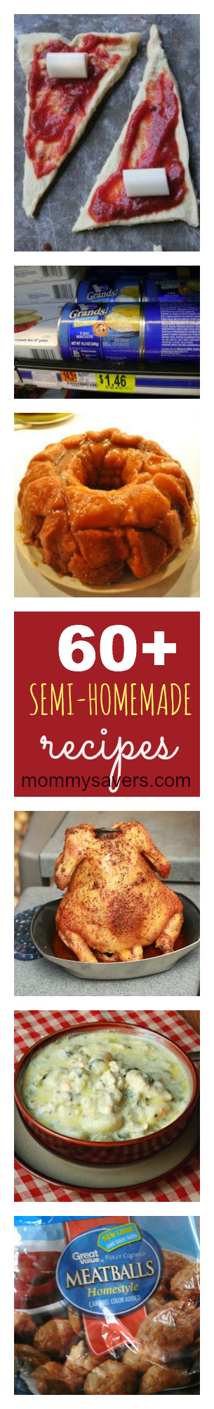 60+ Semi-Homemade Recipes