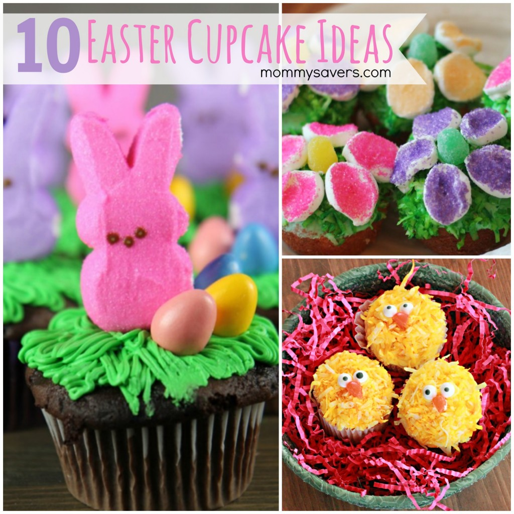 Easter cupcakes 10 easy easter cupcake ideas mommysavers for Cute cupcake decorating ideas for easter