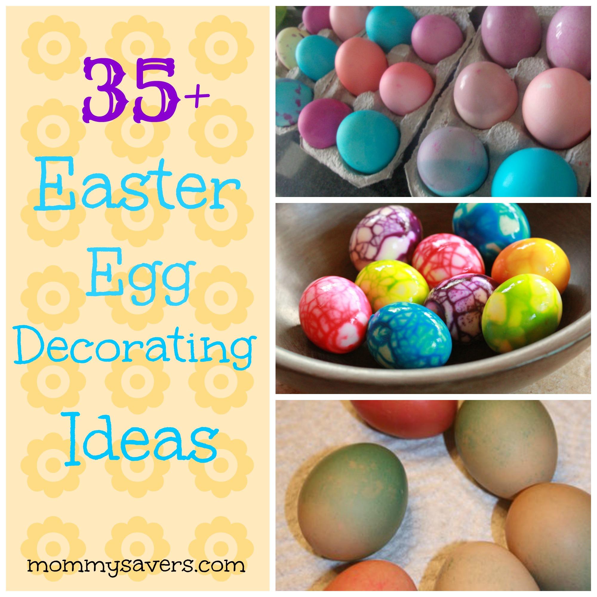 35 easter egg decorating ideas - Easter Egg Ideas
