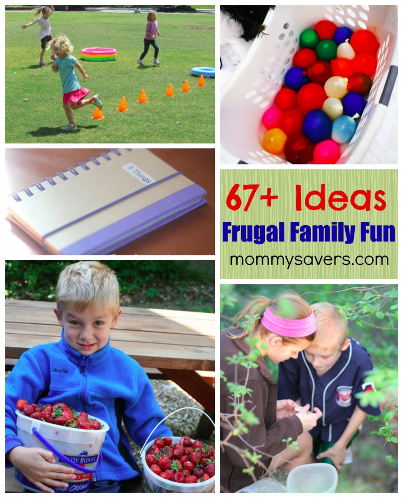 67+ Ideas for Family Frugal Fun