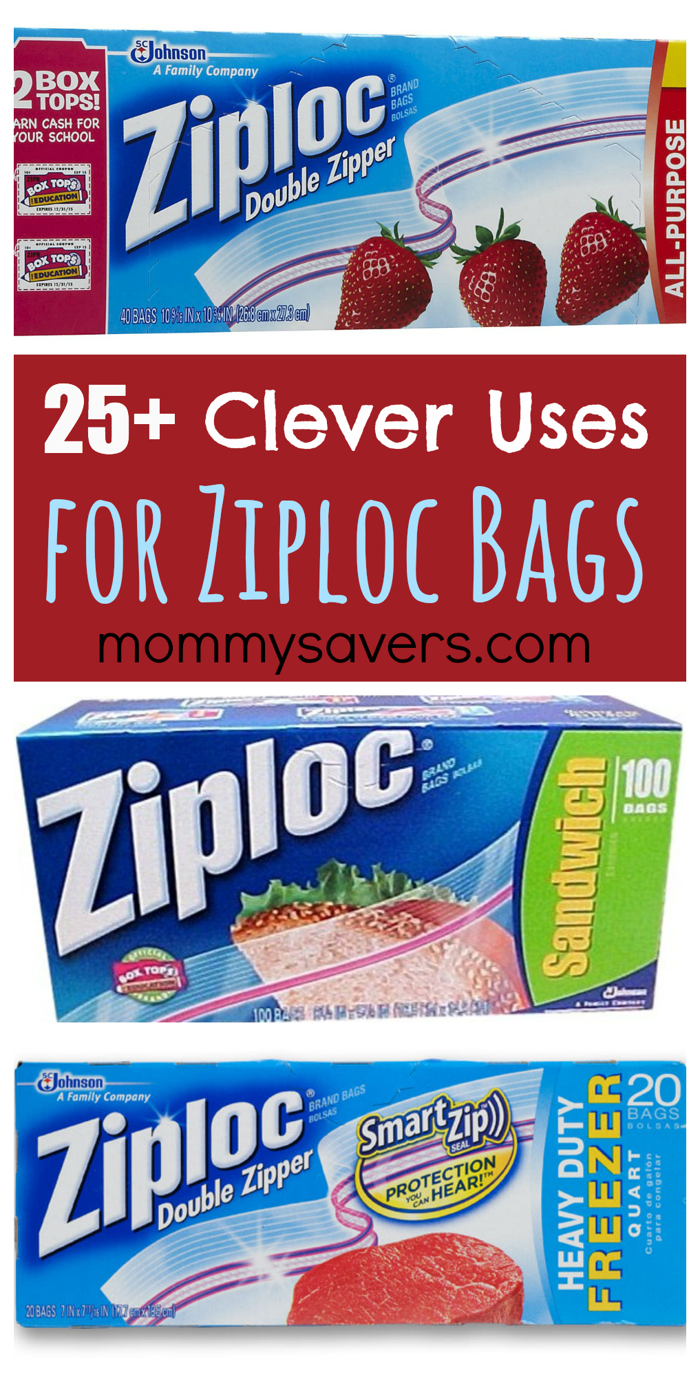 25 Clever Uses for Ziploc Bags