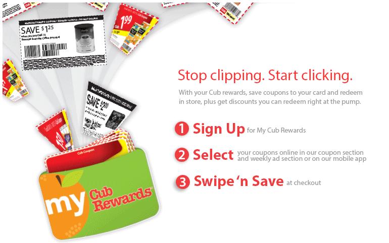 Cub Rewards Card #mycubrewards