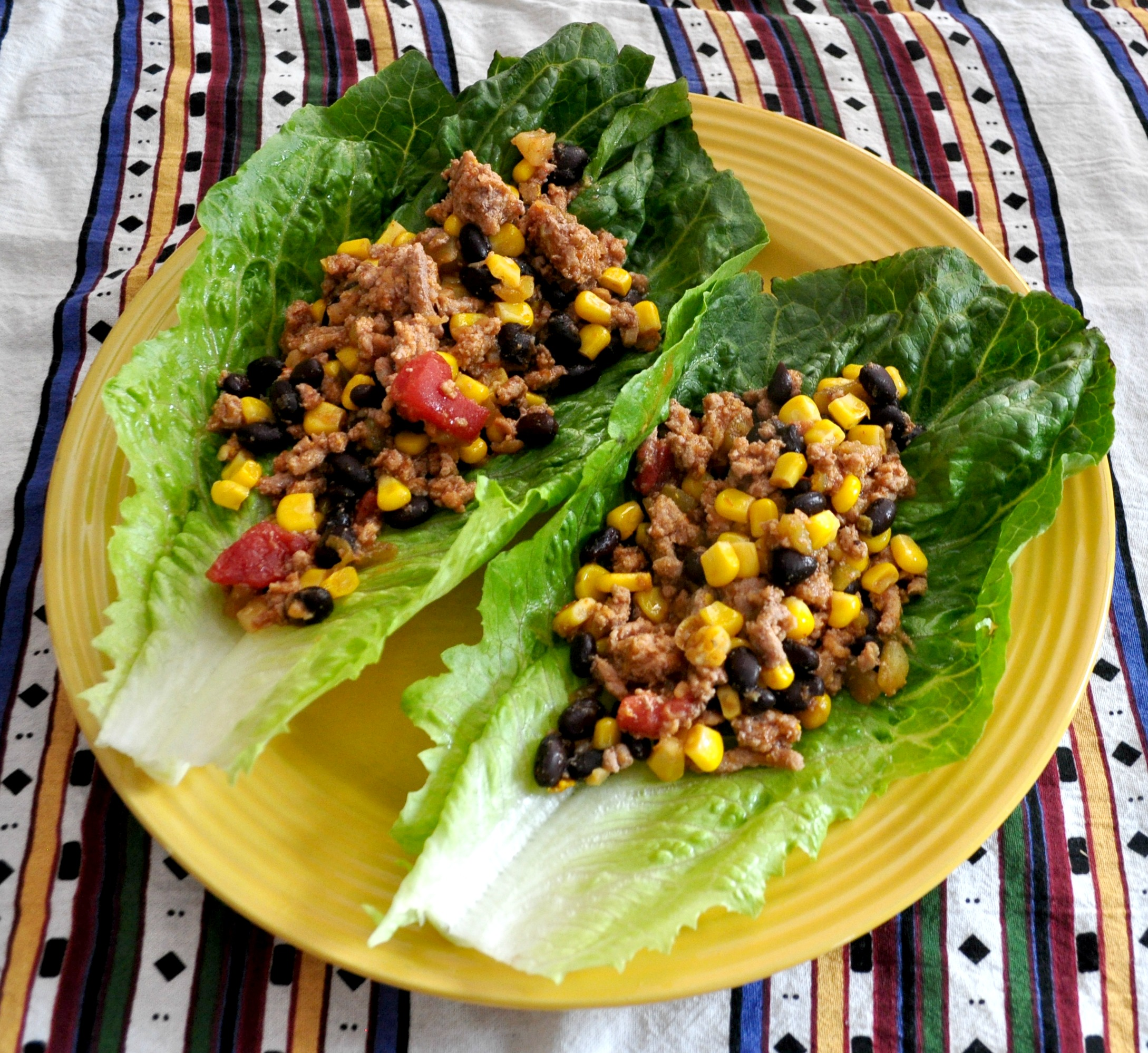 These Turkey Taco Lettuce Wraps are super-easy to make and so yummy ...
