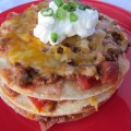 Taco Stack Freezer Meal