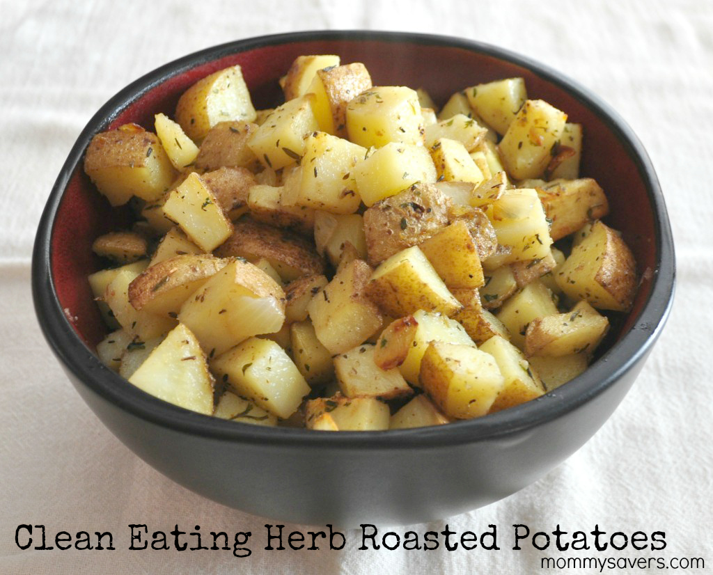 Clean Eating Herb Roasted Potatoes