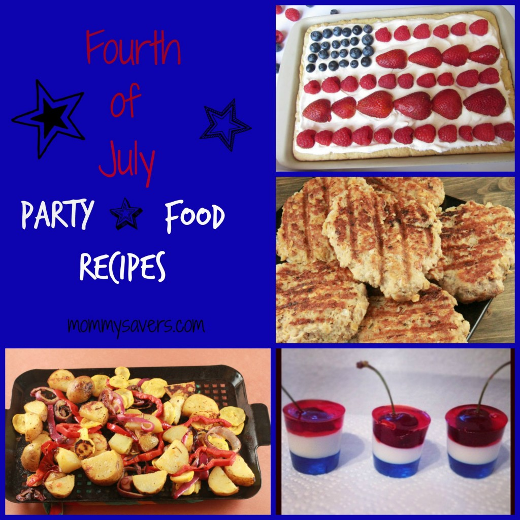 fourth of july party food recipes