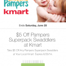 pampers kmart