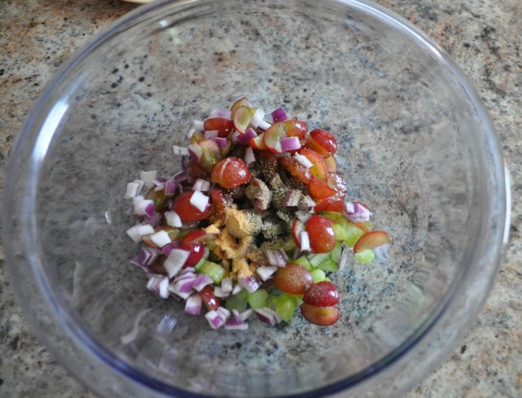 chicken salad pitas