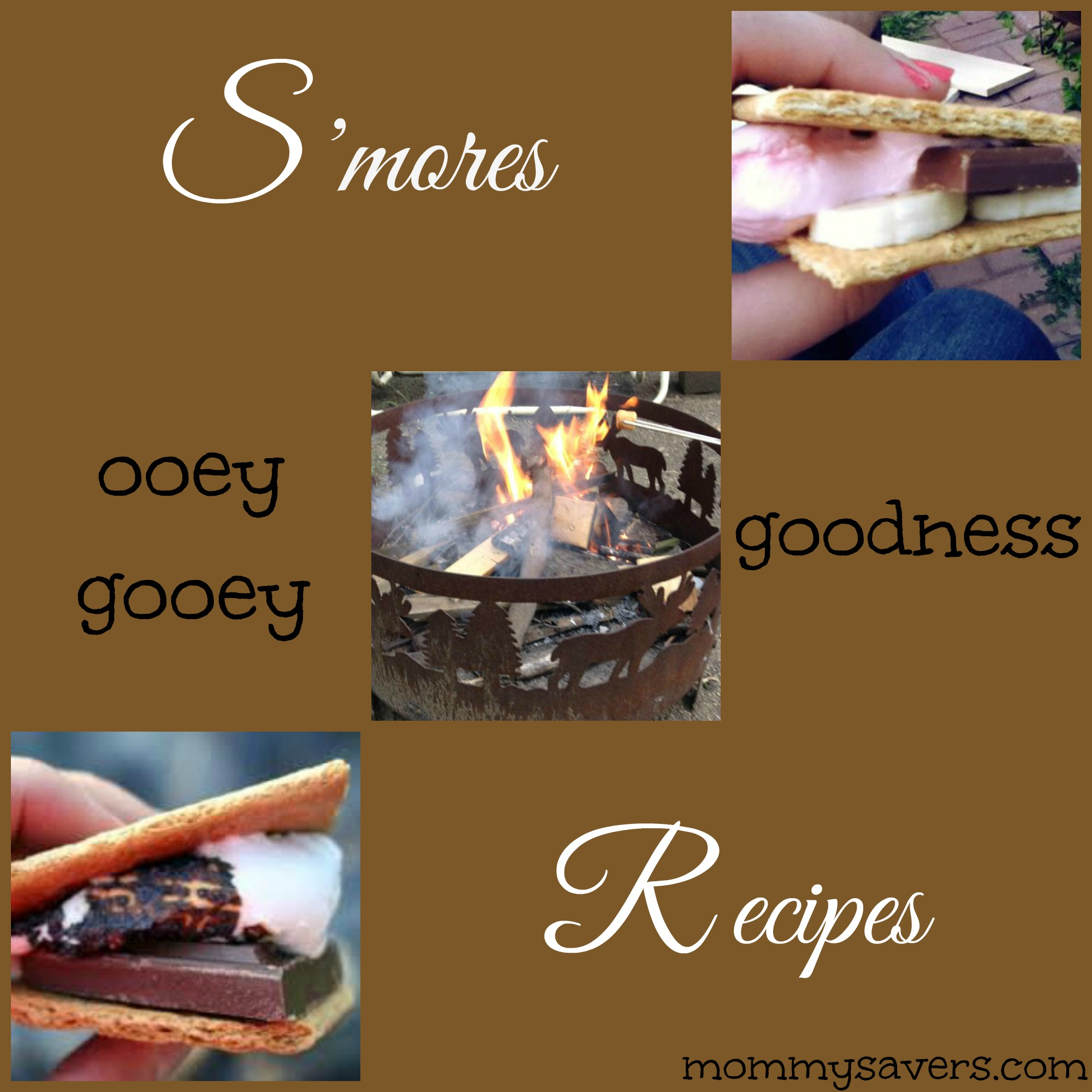 mores Recipes (Ooey, Gooey Goodness) | Mommysavers