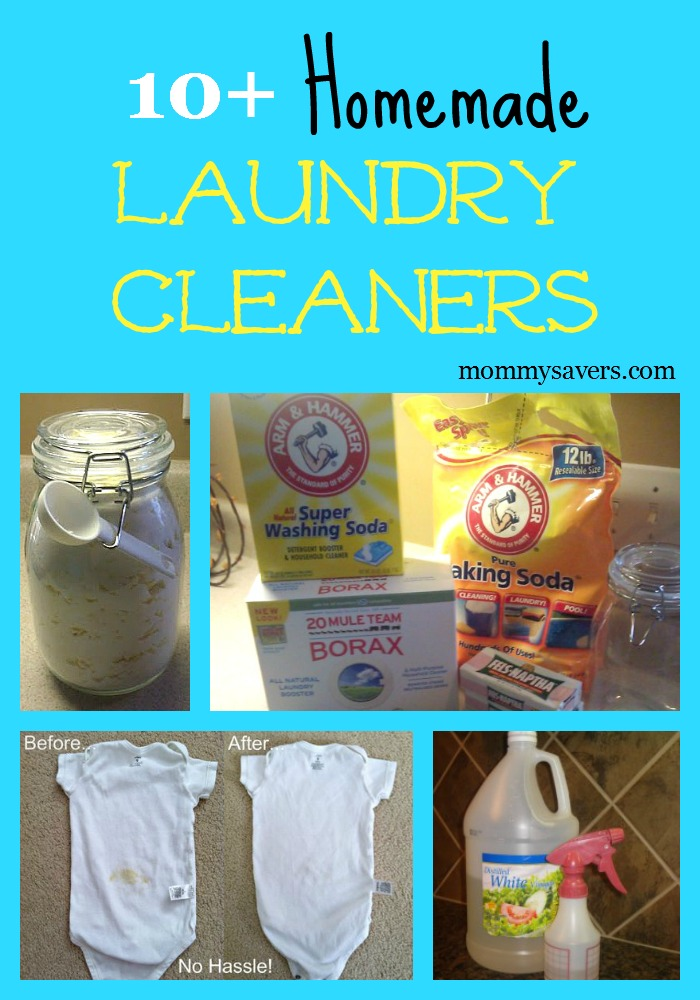 homemade laundry cleaners