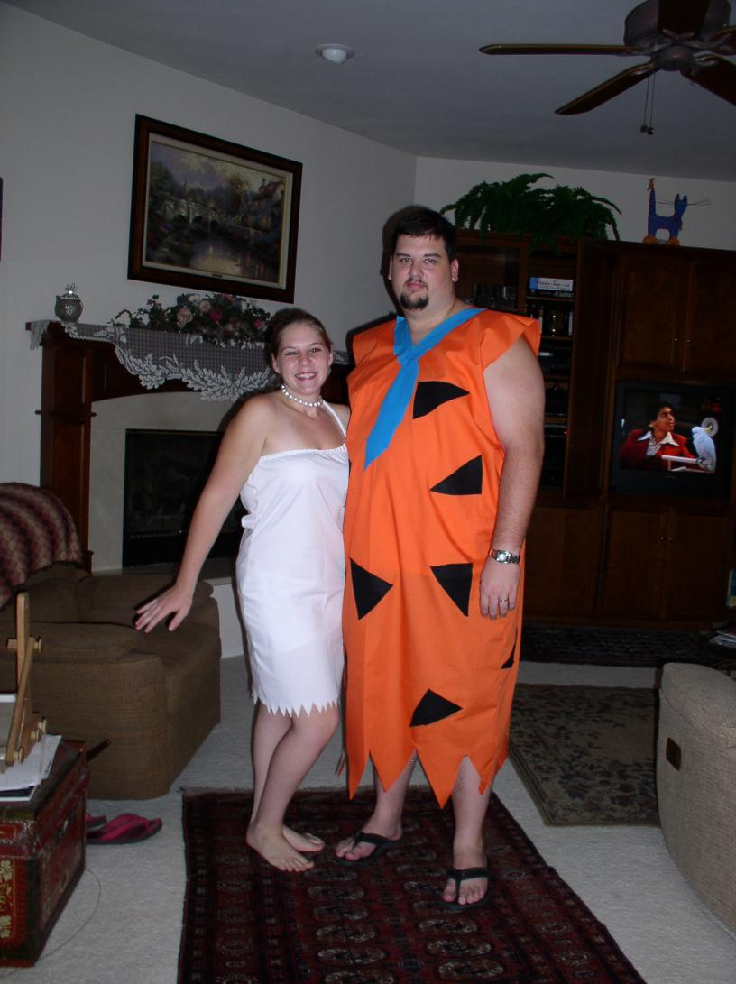diy couples halloween costumes Fred and Wilma Flintstone Couple  sc 1 st  Mommysavers & DIY Couples Halloween Costumes (10+ Ideas) - Mommysavers | Mommysavers