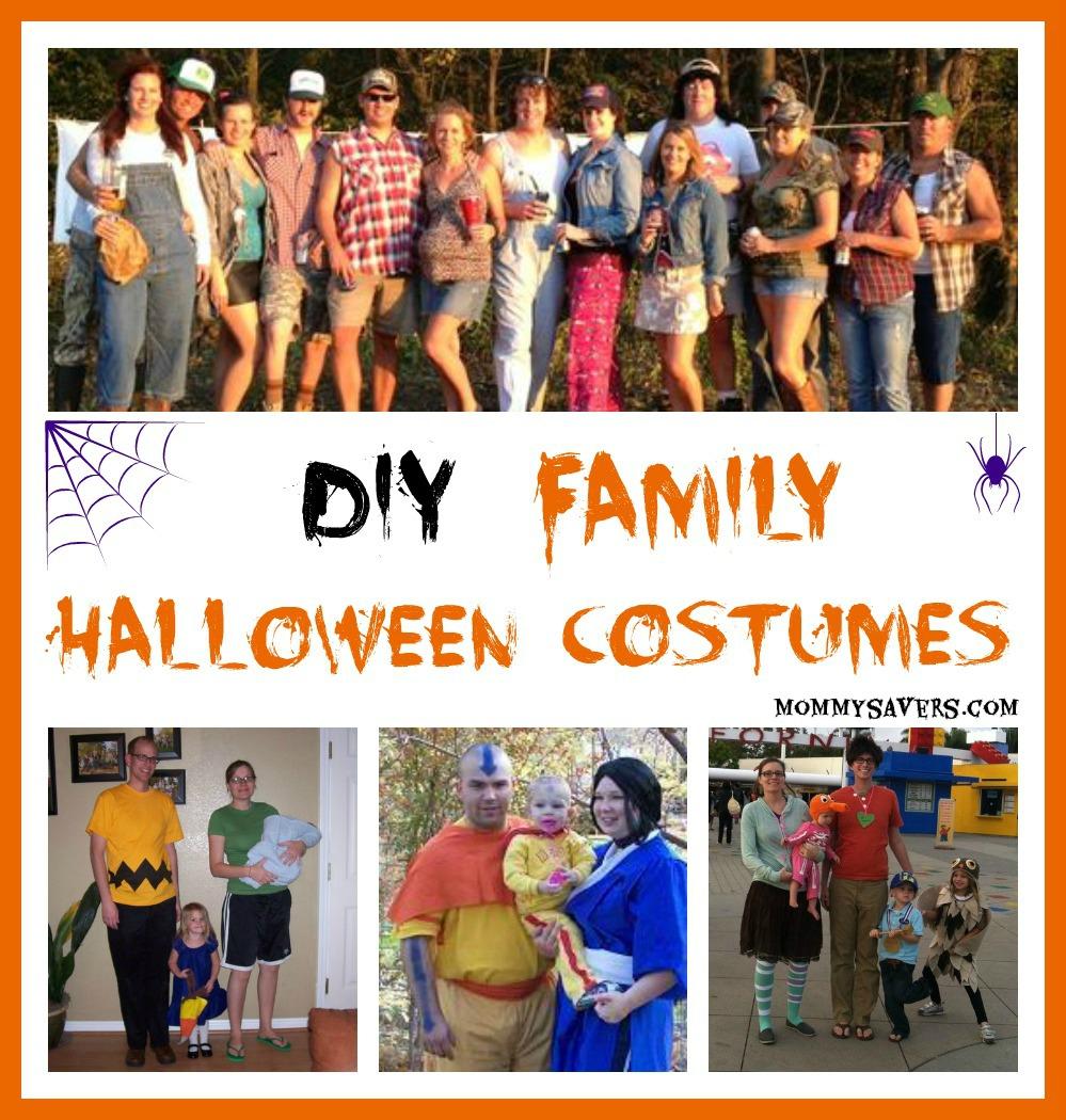 Diy Family Halloween Costumes Mommysavers Mommysavers