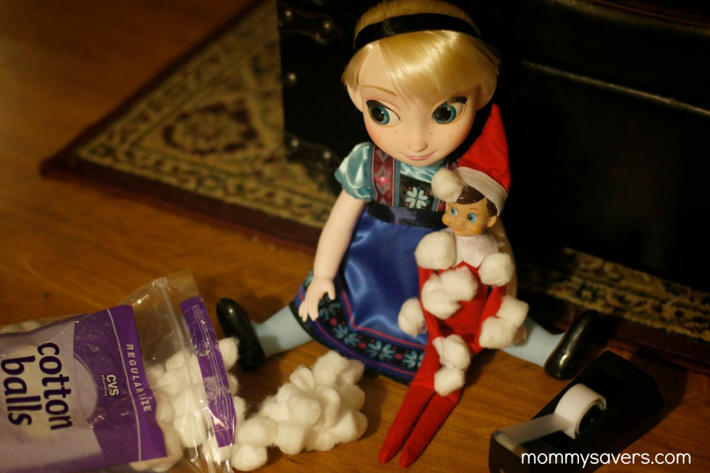 Ideas for Elf on the Shelf Elsa - Mommysavers.com