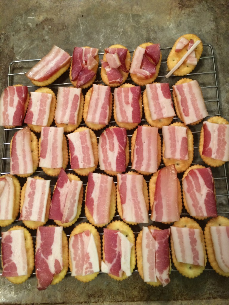 Bacon Crackers with Chipotle
