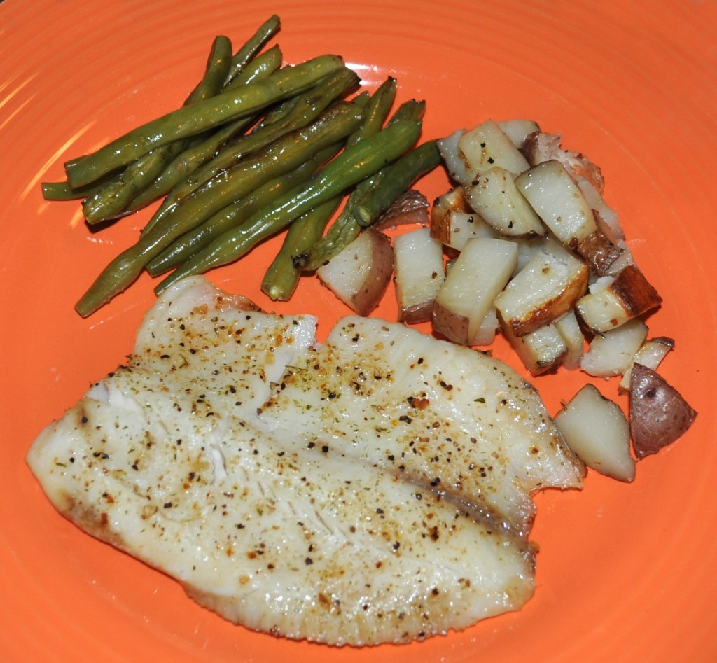 oven baked tilapia