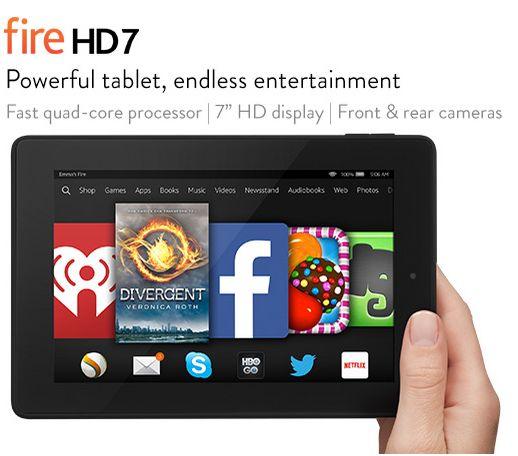 Kindle Fire HD 7 - Amazon Deals