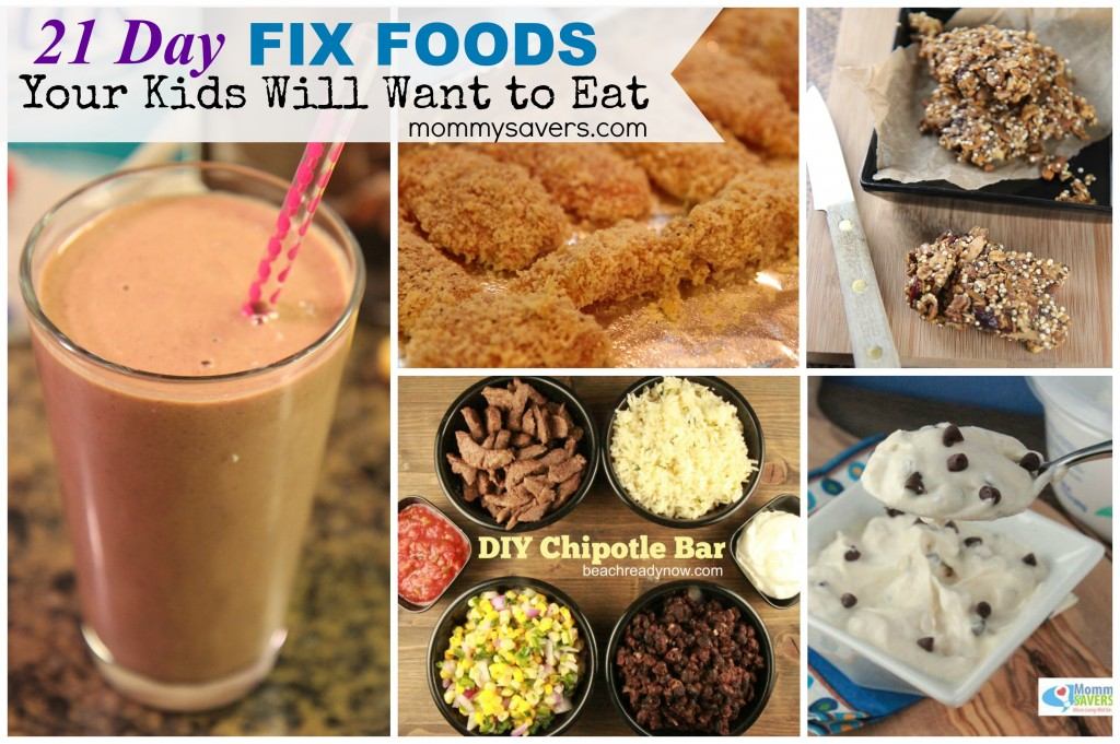 21 Day Fix Foods Your Kids Will Want to Eat