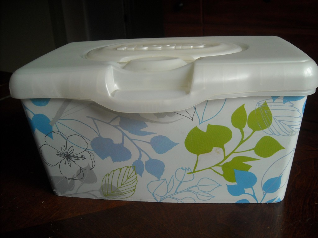 Baby Wipe Container