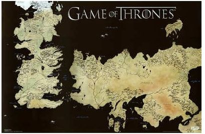 Game of Thrones Map - Amazon Deals