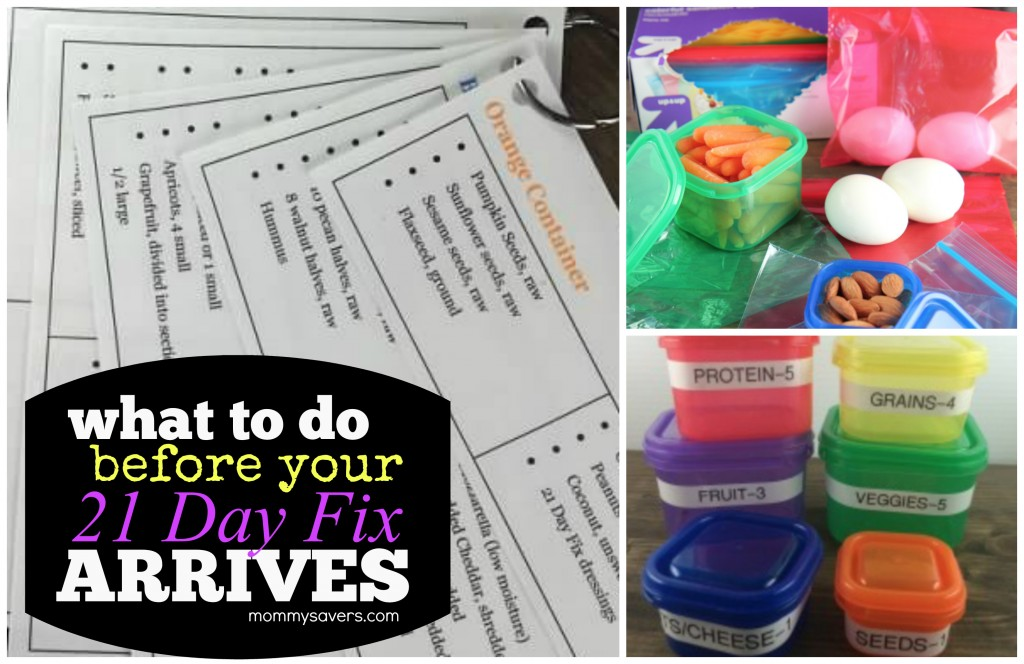What to Do Before 21 Day Fix Arrives