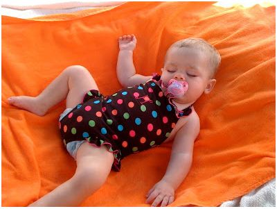 Beach Baby Bed - Beach Tips