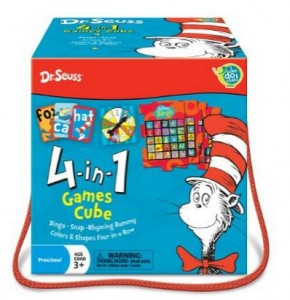 Dr. Seuss Travel Cube - Amazon Deals