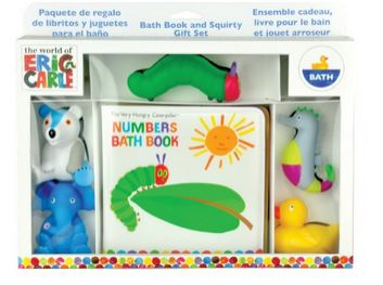 Eric Carle Bath Set - Amazon Deals