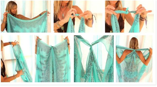 Scarf Beach Coverup - Beach Tips