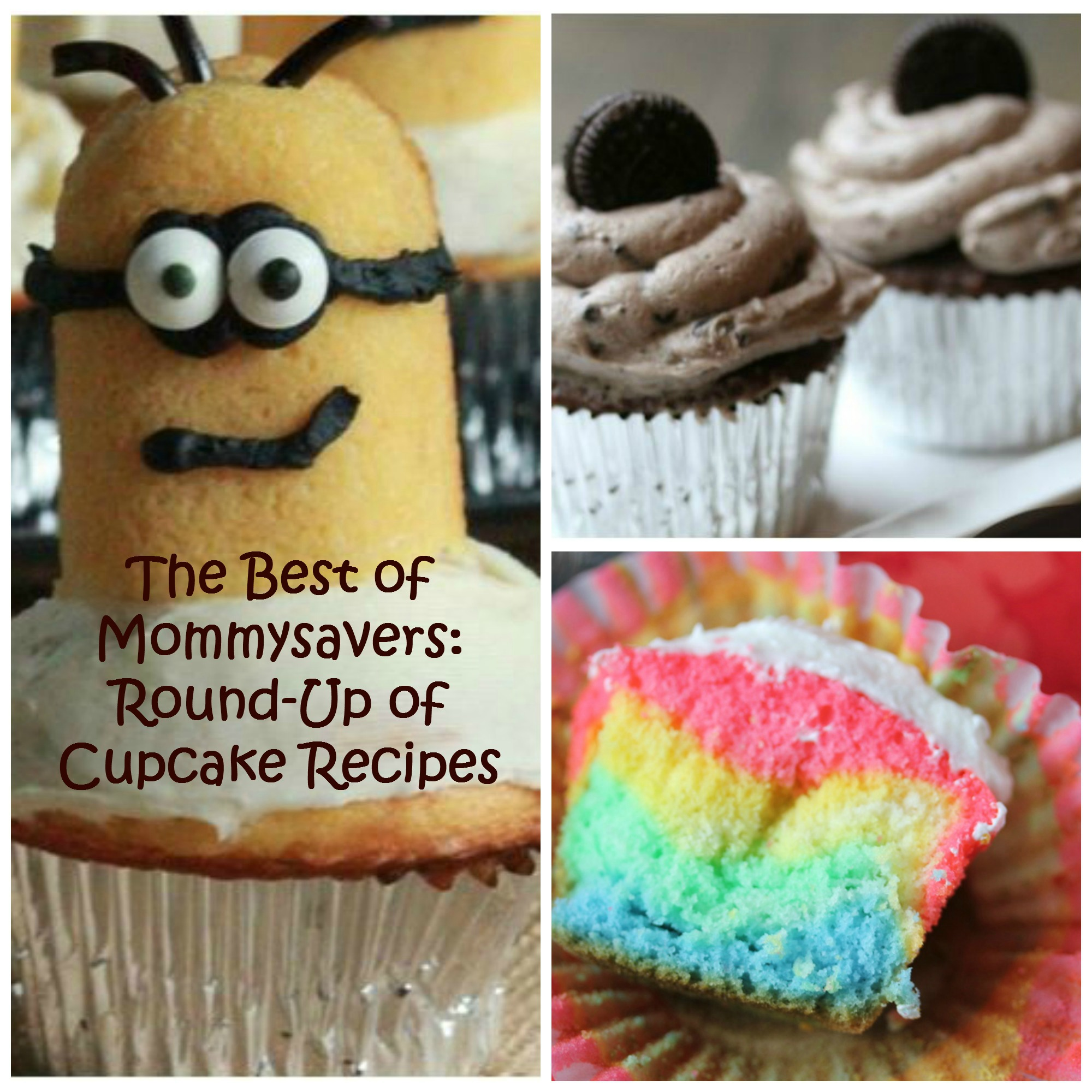 Cupcake Recipe Round-Up