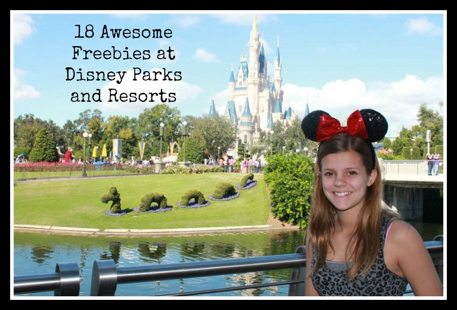 Freebies at Disney Parks